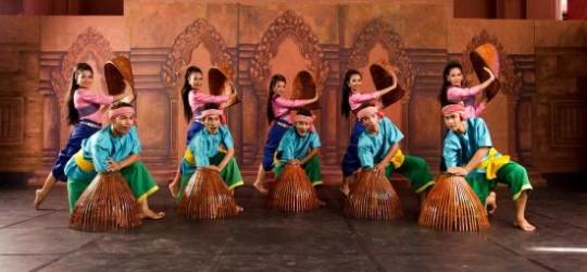 Robam Nesat or Khmer Finishing Dance